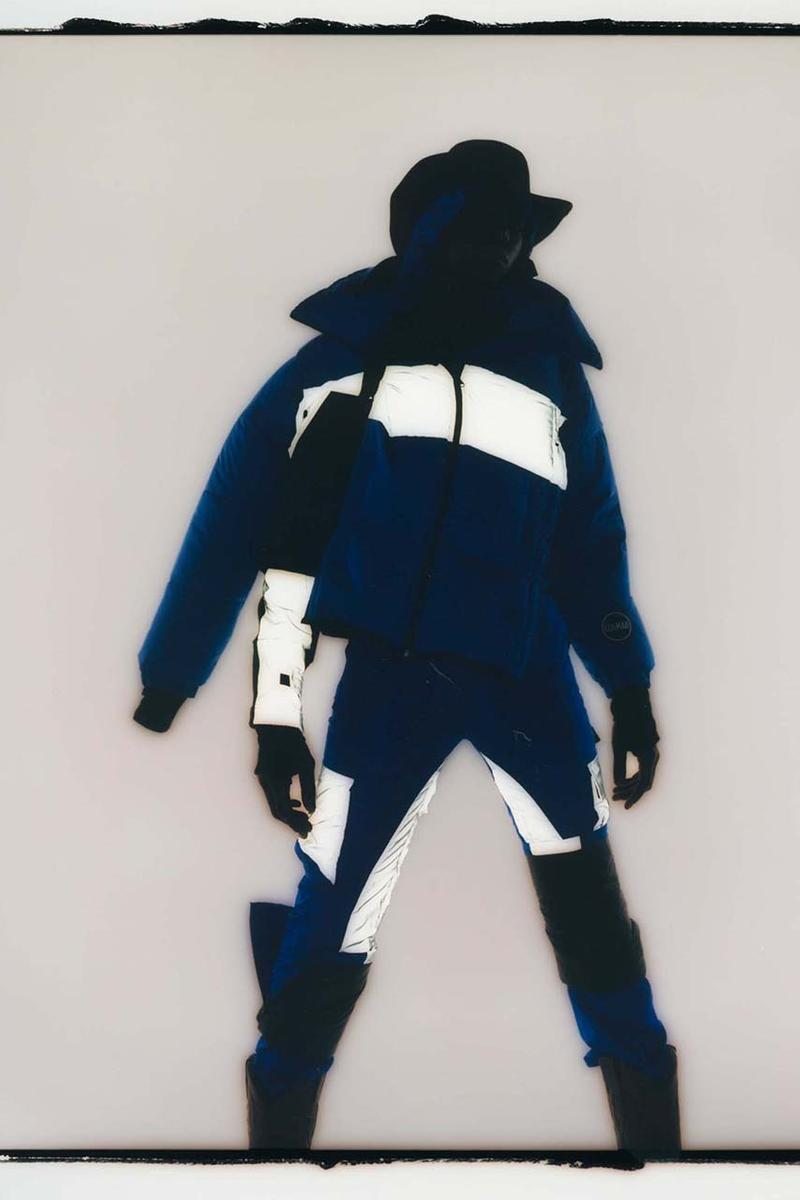 Colmar A.G.E. by Shayne Oliver Fall Winter 2019 2020 Collection Lookbook Utilitarian avant-garde Hood By Air Founder Technical Alpine Gear Ski Label Italian Brand Jackets Coats
