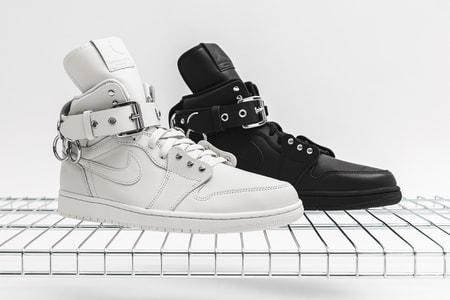 Take a Closer Look at the COMME des GARÇONS x Air Jordan 1 Retro High