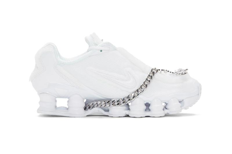 new arrival d4a9b e939e COMME des GARÇONS x Nike Shox TL sneaker where to buy price release 2019  black white