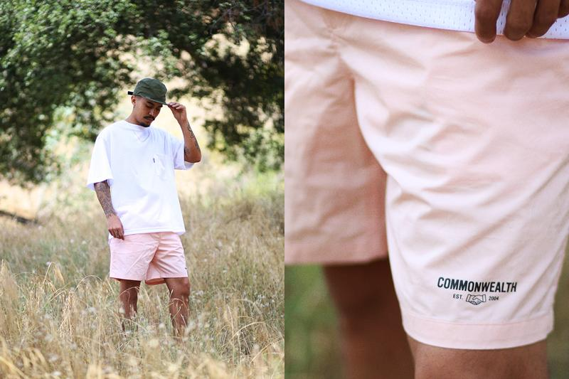 commonwealth spring summer 2019 collection lookbook release july delivery t shirt tees shorts pants jersey hoodies