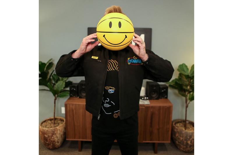 Chinatown Market Conan O'Brien Jackets Tees Body Pillows Black White Yellow Smiley