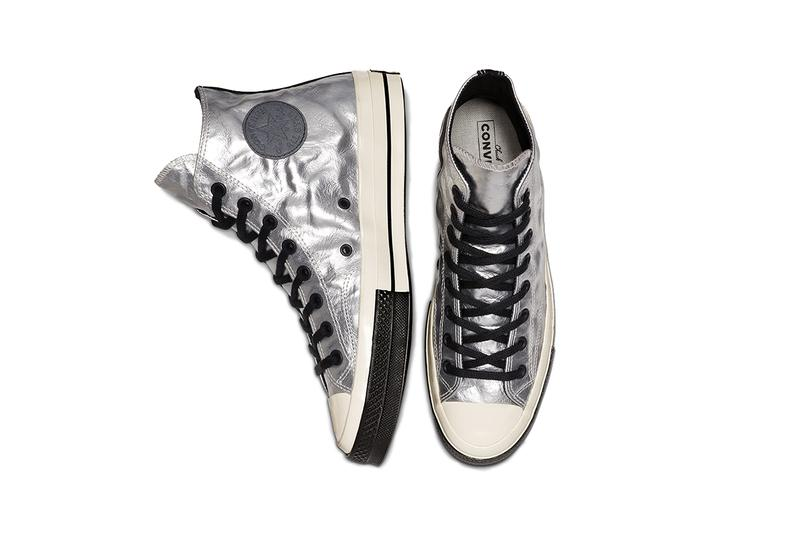 """Converse Chuck Taylor All-Star """"Flight School"""" pack 70 colorway black silver egret colorway release info 165050C 165049C"""