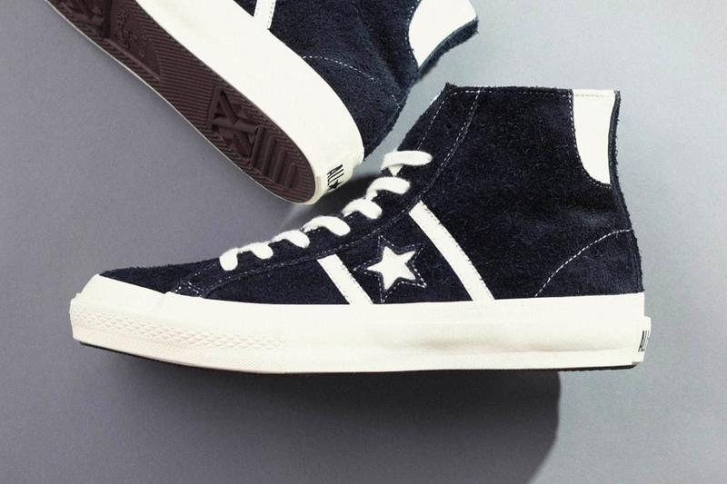 Converse Stars & Bars 50th Anniversary Release black blue white Suede Hi