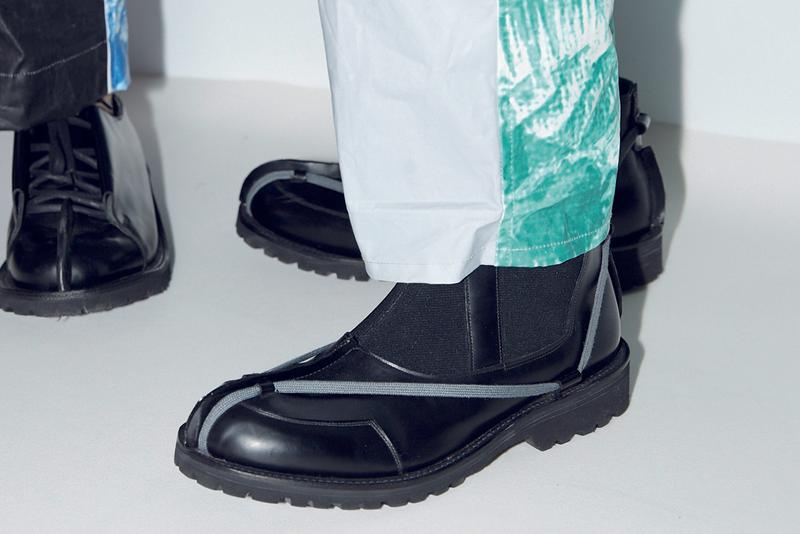 Craig Green x Grenson Fall Winter 2019 Footwear Collaboration Collection British Menswear Designer of the Year Black Rub Off Oxford Slip Off Official First Look Release Information