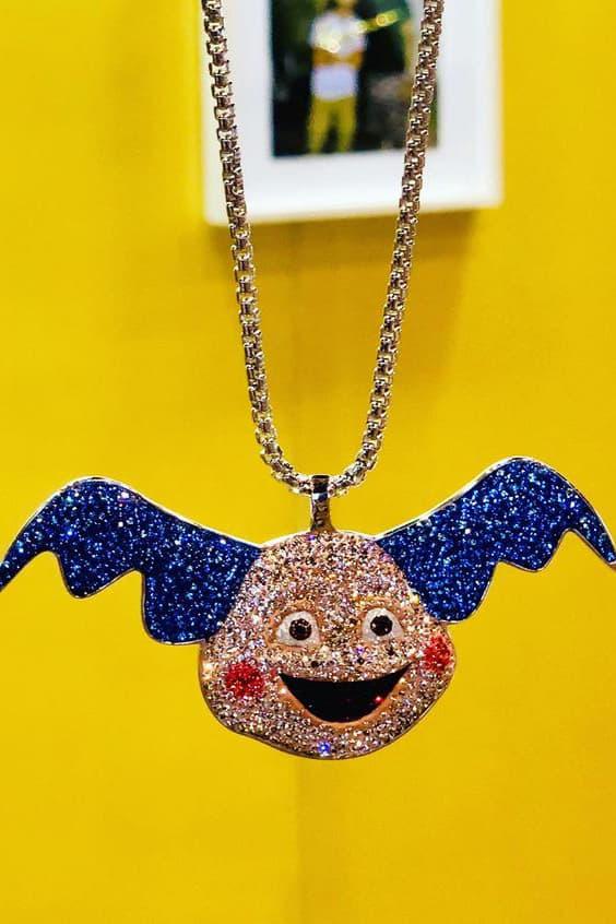 dan life pokemon studded chains jigglypuff pikachu mr mime