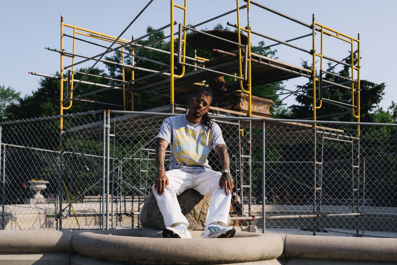 Darryl Brown Midwest Kids Streetsnaps Interview style feature kanye west stylist