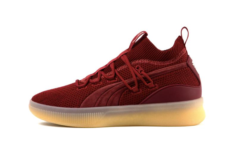 Def Jam PUMA 35th Anniversary Clyde Court Release Info burgundy