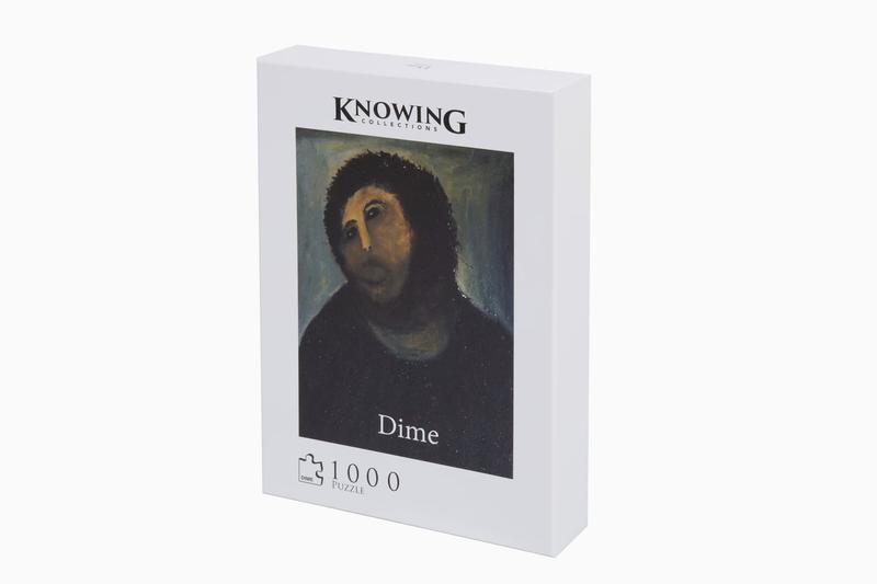 Dime Ecce Homo 1000 Piece Puzzle Set Release art design painting jesus christianity restoration collectibles