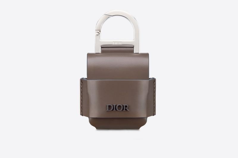 Dior Apple AirPods Cases black grey accessories tech devices bags 350 usd