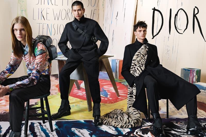 Dior Mens Collection Fall Winter 2019 Steven Meisel Raymond Pettibon Kim Jones Christian Dior campaign images