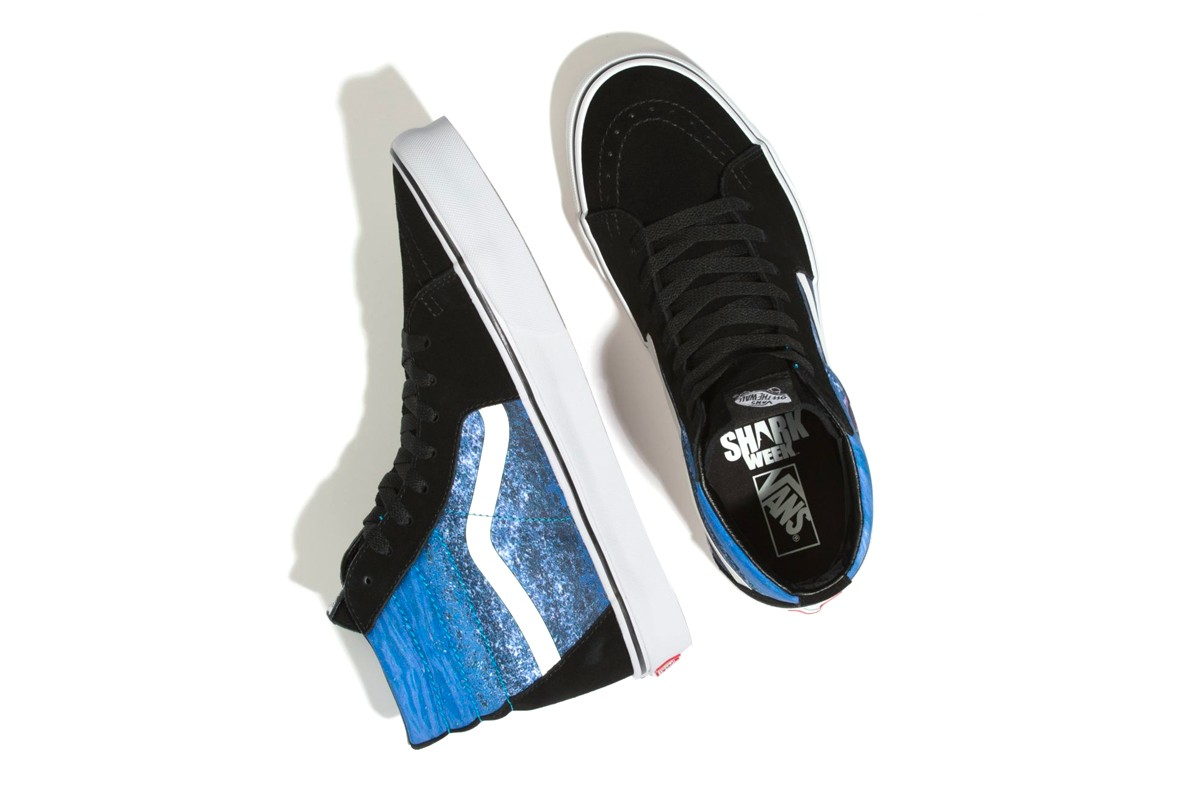 Discovery Shark Week x Vans Collection