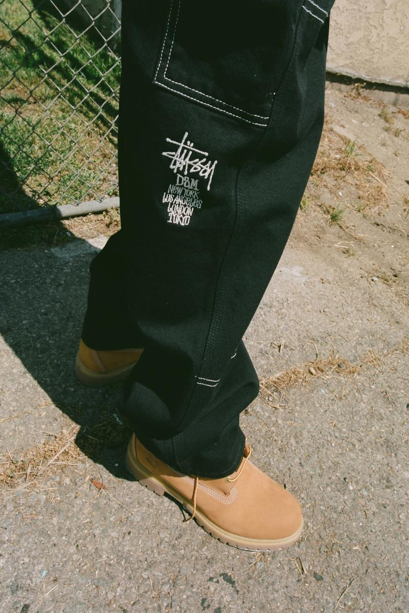 Carhartt WIP & Stüssy for DSM London & LA capsule collaboration collection exclusive release date info buy dover street market july 19 2019 release date info buy