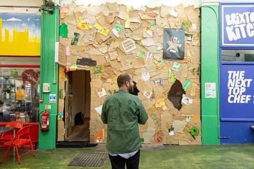"DRx Showcases ""CARDBOARD SHOP"" Exhibition in Brixton Village Market"