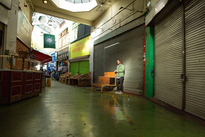 "Darren Romanelli (DRx) ""CARDBOARD SHOP"" Peter Sutherland Cali Thornhill DeWitt Brixton London Art Exhibition Public Viewing ""BRxTN"" Community Conversation Culture Collaboration Binki Taylor Cardboard Storefronts"
