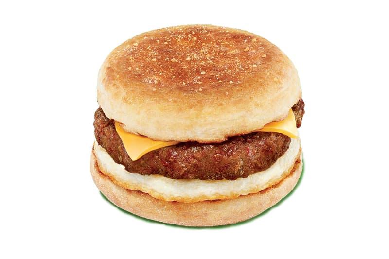 Dunkin' Donuts Beyond Sausage Breakfast Sandwich Beyond Meat plant breakfast sandwich