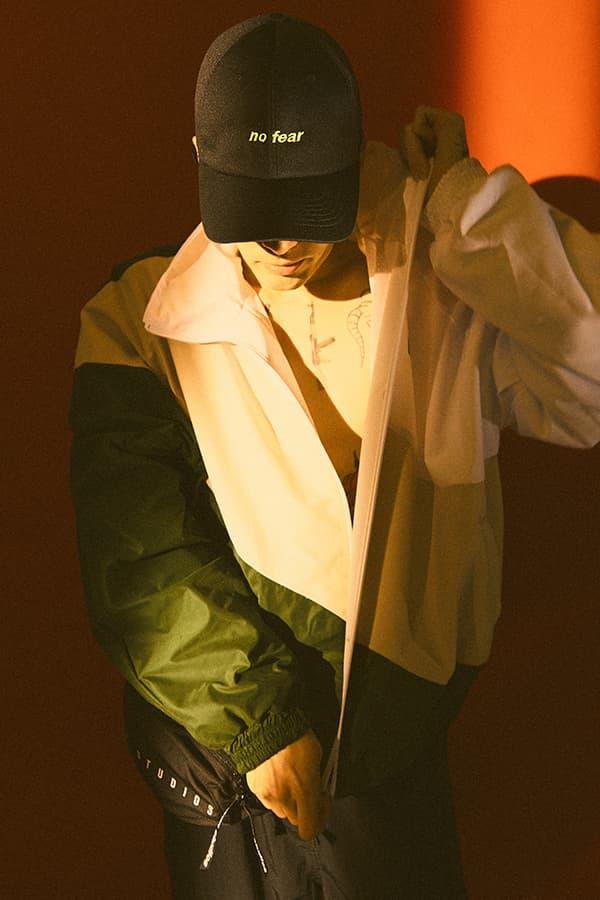 DVSN Studios Spring Summer 2019 Lookbook Cap T shirt hoodie socks  Hong Janghyun