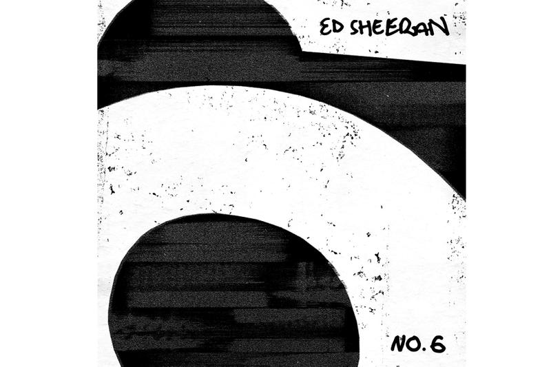 Ed Sheeran 'No 6 Collaborations Project' Stream  Cardi B, Eminem, Travis Scott, Justin Bieber, Young Thug, Chance The Rapper, Skrillex, Ella Mai, H.E.R., Camila Cabello, 50 Cent, Stormzy