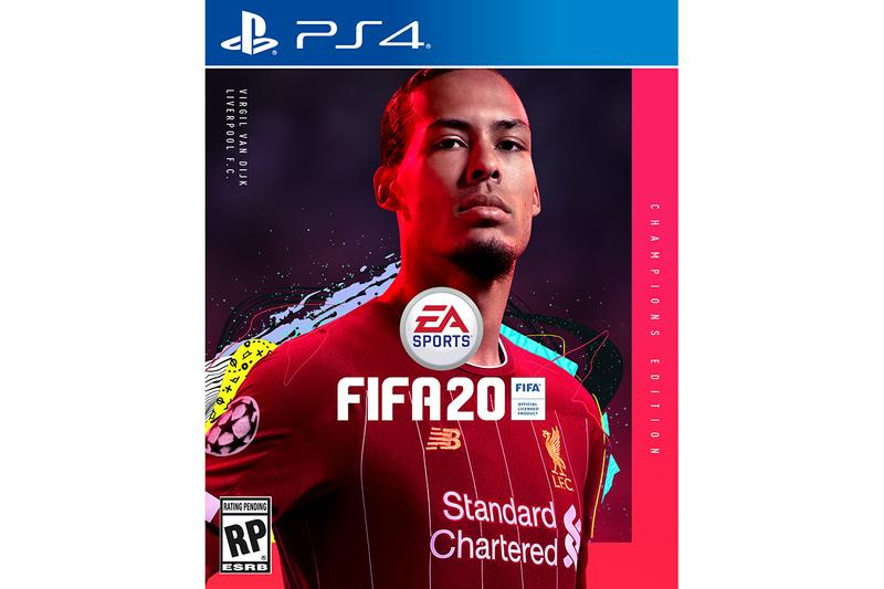 Eden Hazard Virgil van Dijk for FIFA 20 game video gaming football soccer liverpool FC real madrid xbox one playstation ps4 cover star athlete