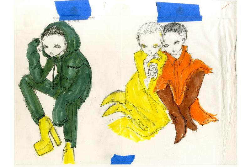 eri wakiyama illustrator exhibition solo show procell gallery new york city delancey illustrations watercolor acrylics