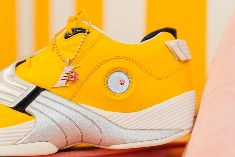 Eric Emanuel x Reebok Answer V Release TrckGold Allen Iverson I3 Philly the answer