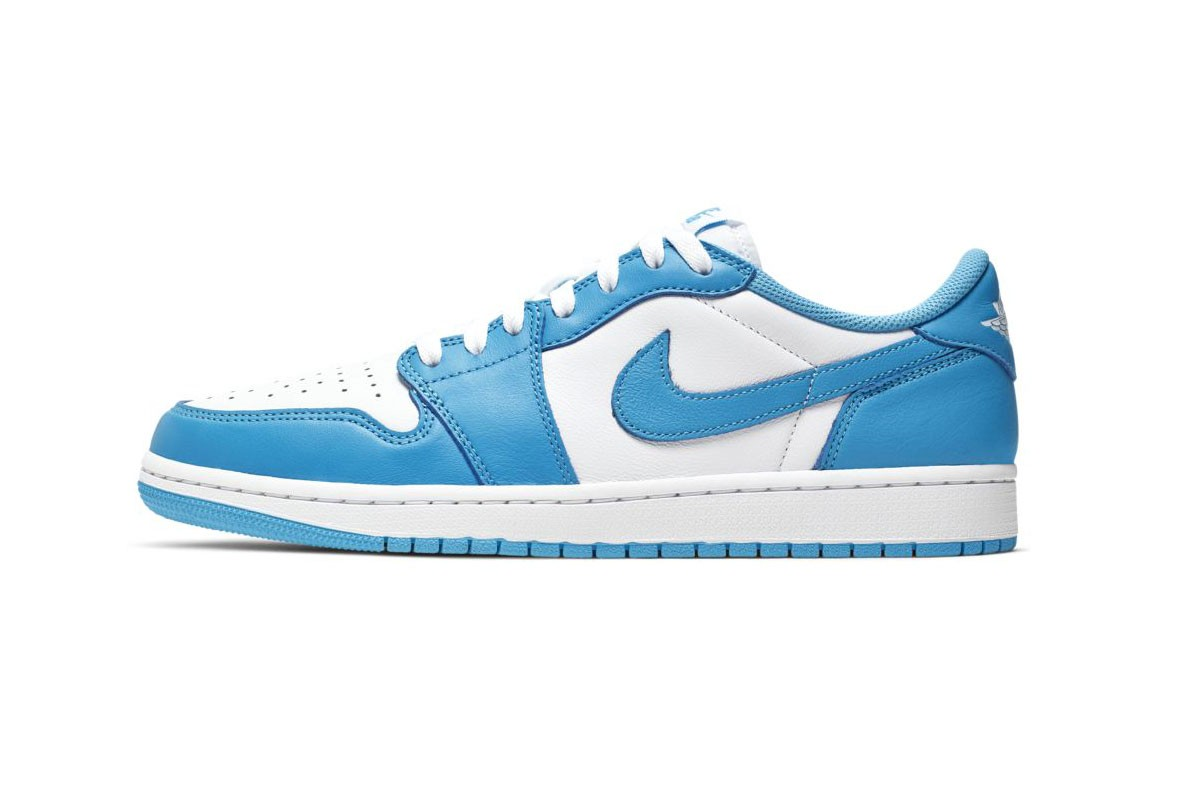 "Nike SB x Air Jordan 1 Low ""UNC"" Now on StockX 