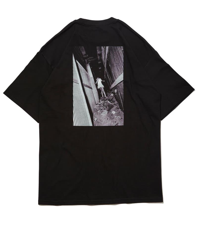 Daido Moriyama Qucon Evisen Skateboards Tees Jackets Bags White Black Photography Lips