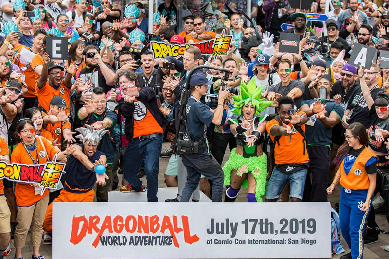 Fans Break Kamehameha World Record San Diego Comic-Con Video