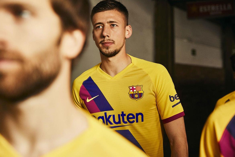 Fc Barcelona 2019 20 Away Kit By Nike Hypebeast