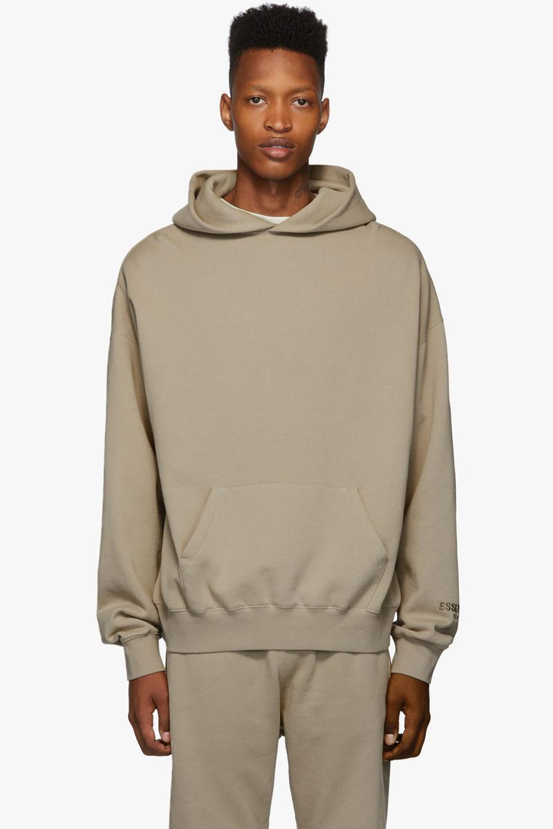 fear of god essentials fall winter 2019 collection release drop info shop sweatshirts hoodies sweatpants