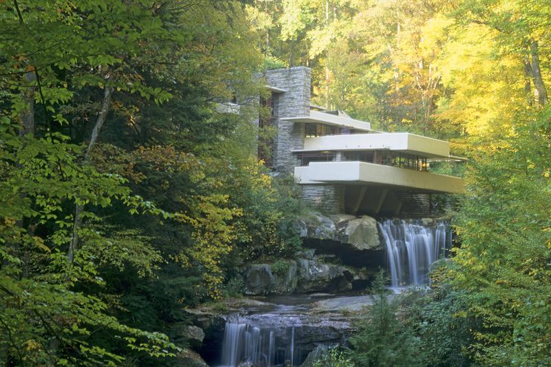 frank lloyd wright buildings unesco world heritage sites fallingwater solomon r guggenheim museum details taliesin west design architecture best iconic most famous
