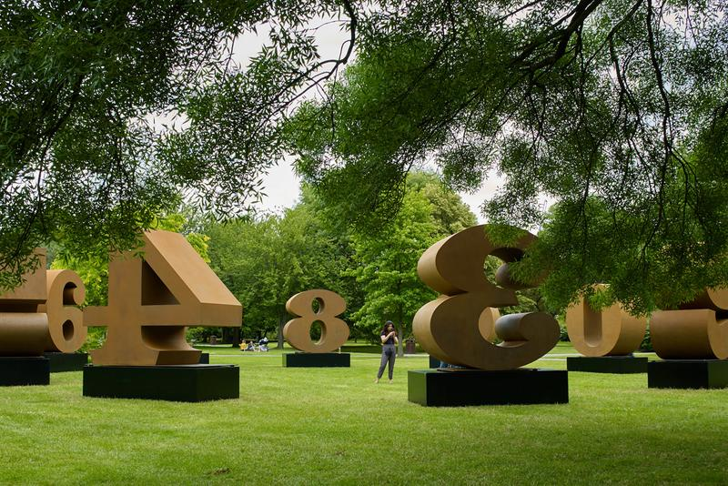 frieze sculpture london artworks sculptures artists tom sachs tracey emin robert indiana vik muniz jaume plensa