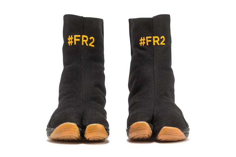 FR2 Air Tabi Shoes Release info Black Gum Buy FXXKING RABBITS Sneakers