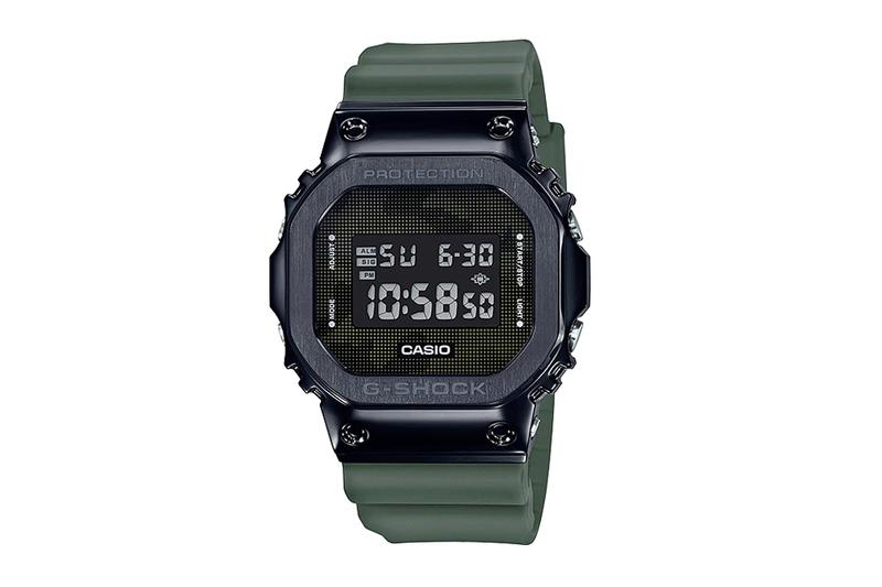 Casio G-Shock GM-5600B-3 Military Camo Release green Black Streel G