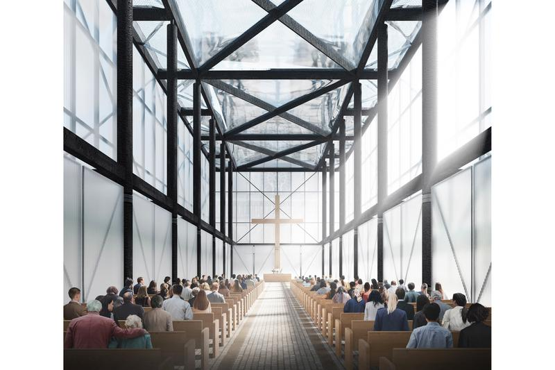 Gensler Aids in Rebuilding Notre-Dame With Temporary Worshipping Pavilion