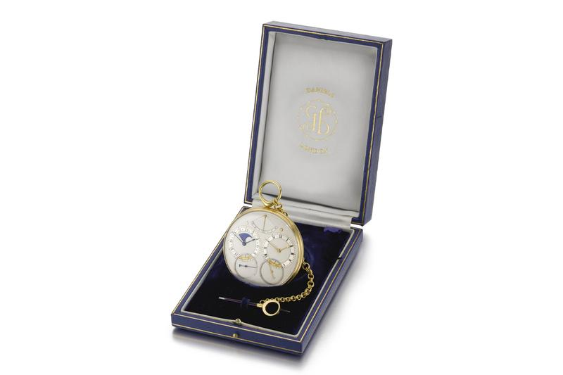 George Daniels Space Traveller I Sothebys Sale auction most expensive english watch england