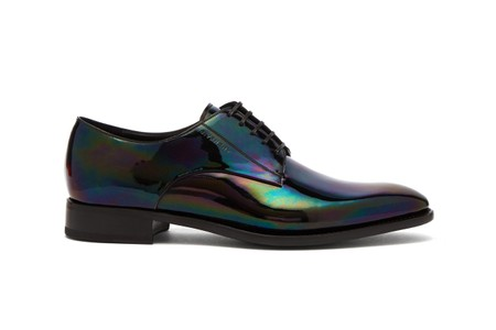 Givenchy Reworks the Classic Derby Shoe With a Gleaming Iridescent Upgrade