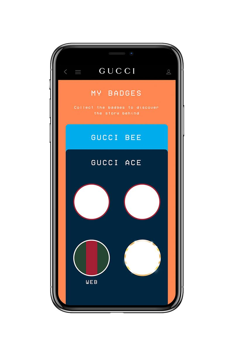 Gucci Arcade App Update Release Information Play Mobile Phones Smartphones Alessandro Michele 'Gucci Bee' 'Gucci Ace' Maze 8-Bit Games