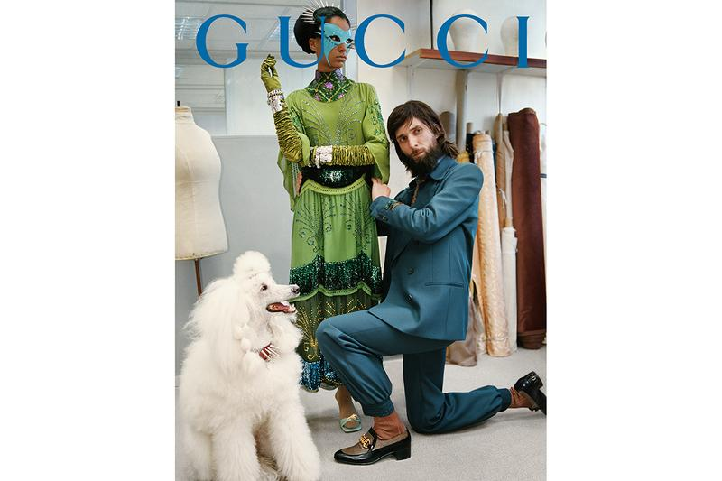 Gucci #GucciPrêtÀPorter Fall Winter 2019 2020 Campaign Imagery Glen Luchford Alessandro Michele GG Emblem 50s 60s 70s 1980s Past Present Collection Lookbook
