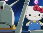 Amuro and Hello Kitty Come Under Attack in New 'Gundam vs. Hello Kitty' Trailer