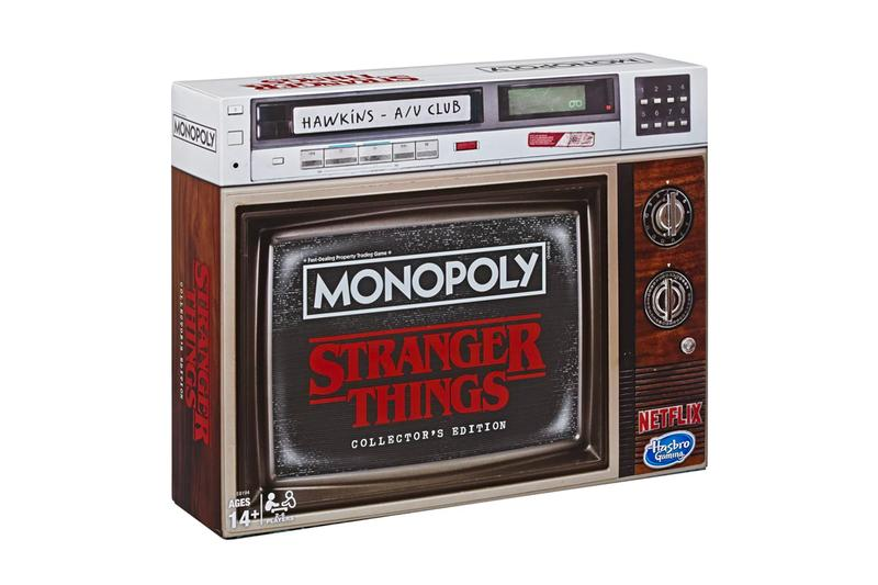 Monopoly Stranger Things Collectors Edition gaming board games hawkins netflix streaming hasbro