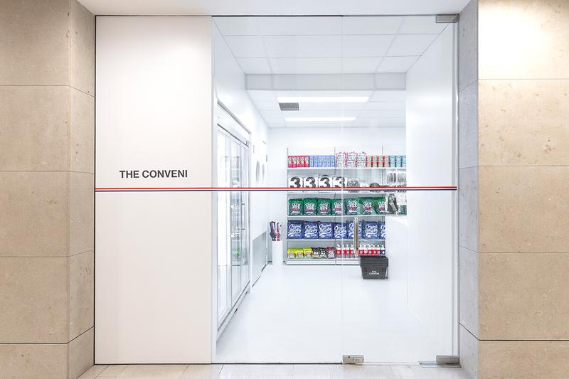 HBX The Conveni Hong Kong Landmark Pop-Up Look Inside Items Buy Purchase Selling