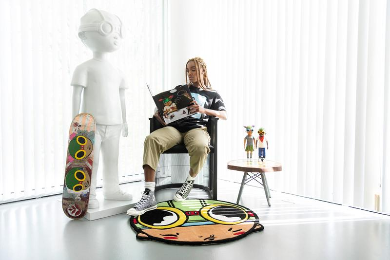 hebru brantley flyboy rug release details artwork editions collectibles home goods