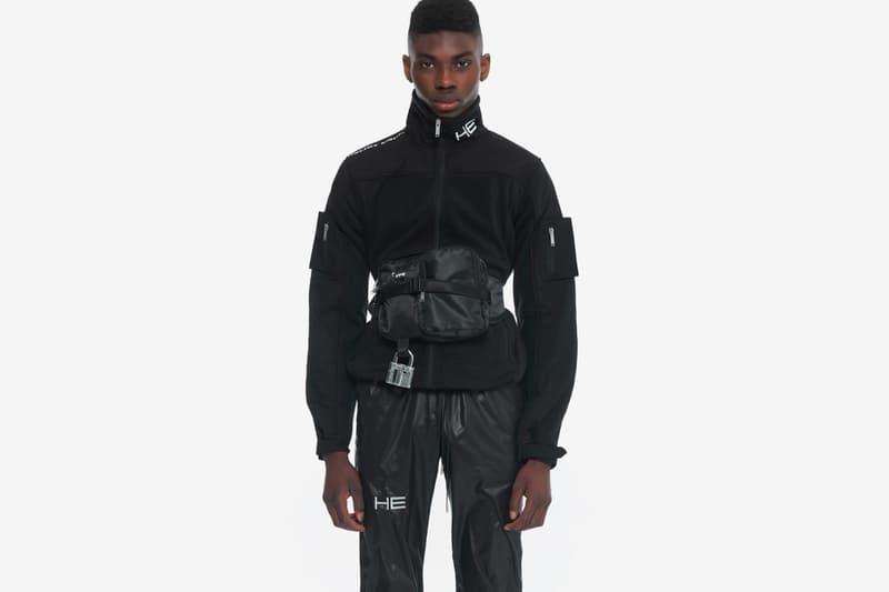 HELIOT EMIL SS20 Magnetic Tech Cargo Pants  spring summer 2020 interchangeable pouch bags danish brand menswear techwear technical apparel