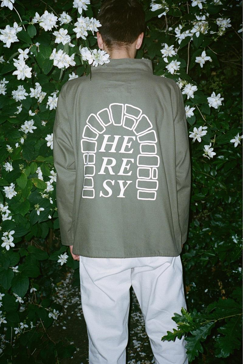 heresy spring summer 2019 london ss19 second drop release information closer look lookbook buy cop purchase goodhood