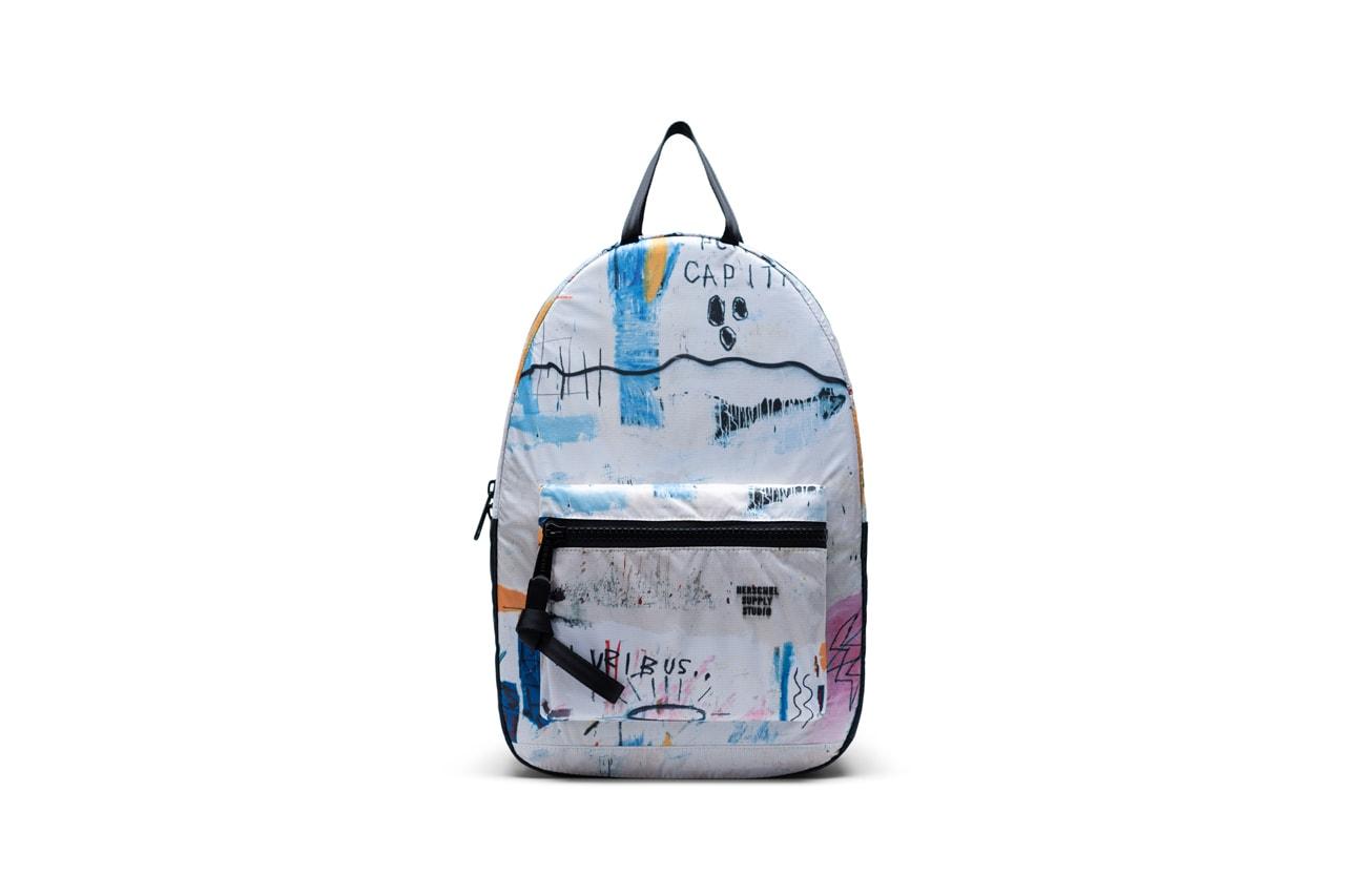 Herschel Supply Launches Basquiat Collection bags backpacks hip packs duffels duffles jean michel basquiat graffitti neo expressionism