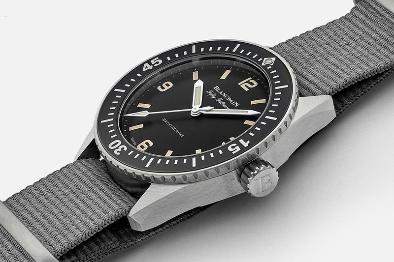 Hodinkee x Blancpain Fifty Fathoms Bathyscaphe watches ben clymer