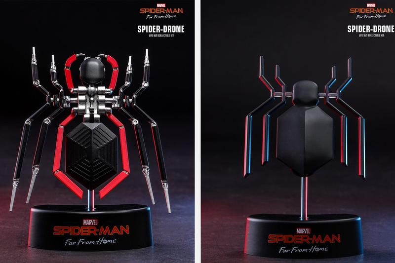 Hot Toys Spider Man Far From Home Spider Drone replica toys collectibles marvel cinematic universe studios peter parker tom holland