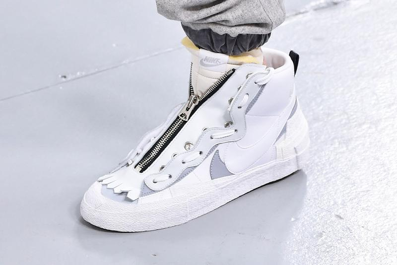 sacai Nike Blazer Mid White First Look BV8072-100