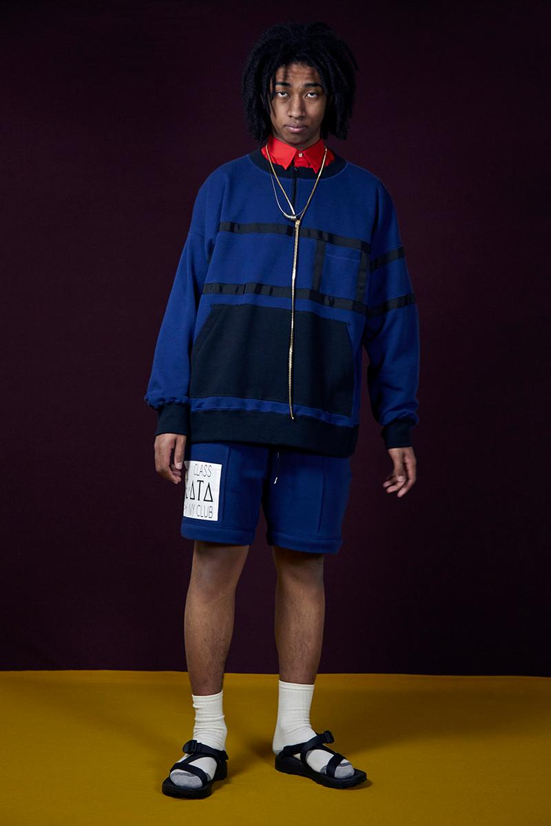Humis Fall Winter 2019 Collection Lookbook Japan Laidback Streetwear Tailoring Techwear Slouchy Silhouettes Shorts Jackets T-Shirts Sweatshirts Coats Trousers
