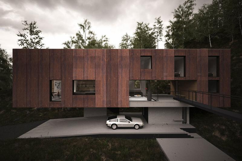 hyde + hyde Architects House for a Photographer Info Brecon Beacons National Park design outdoors home houses architecture structures lifestyle interior design